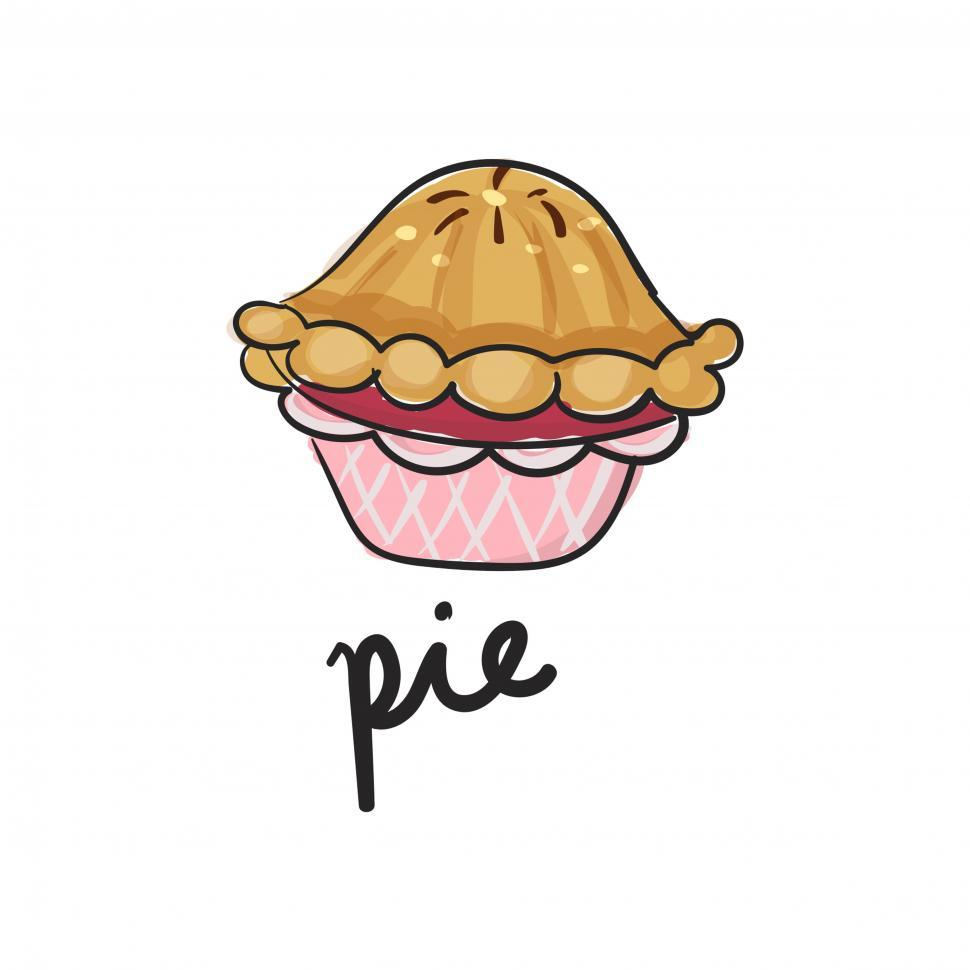Download Free Stock HD Photo of Pie vector icon Online