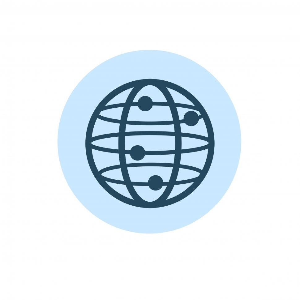 Download Free Stock HD Photo of Globe icon vector Online