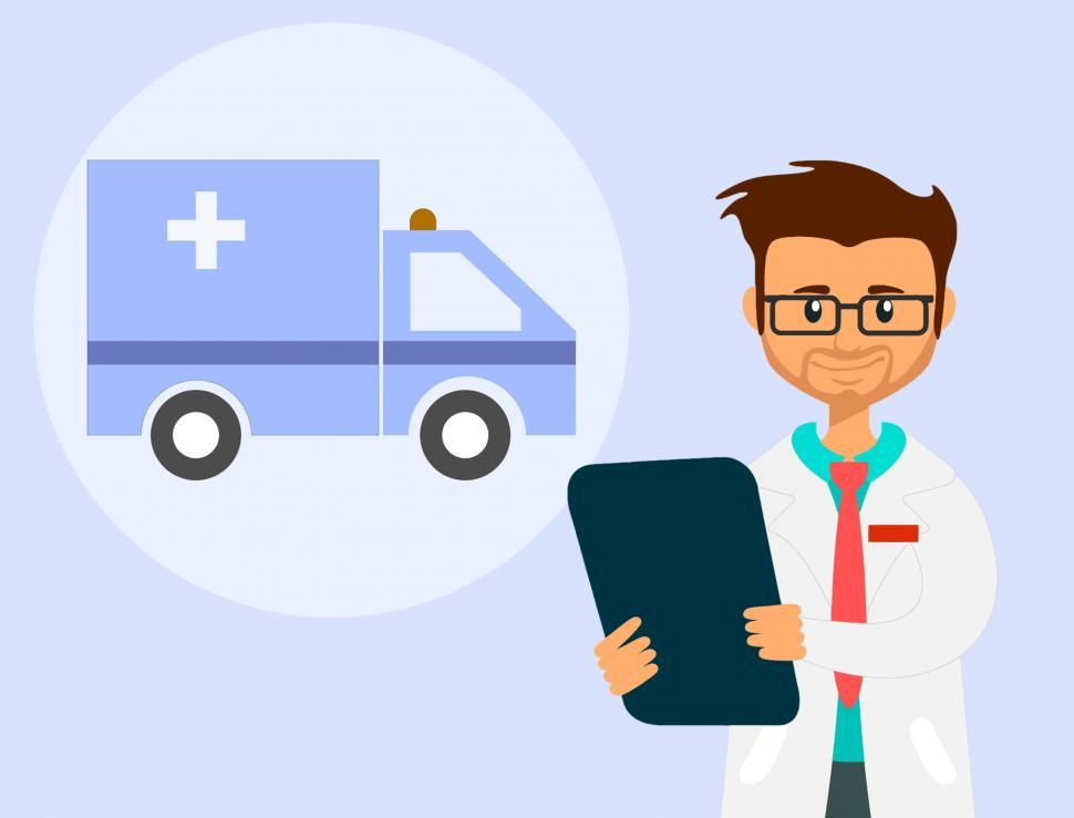 Download Free Stock HD Photo of Ambulance doctor  Online