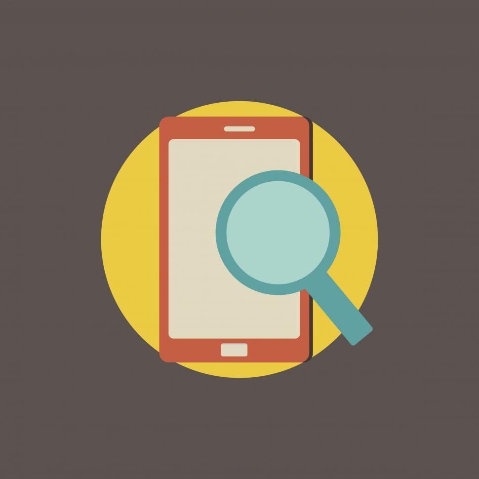 Download Free Stock HD Photo of Online search icon vector Online
