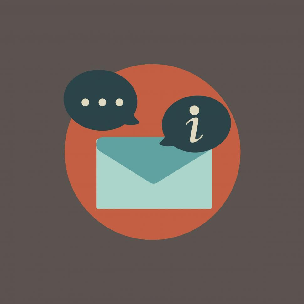 Download Free Stock HD Photo of Email message vector icon Online