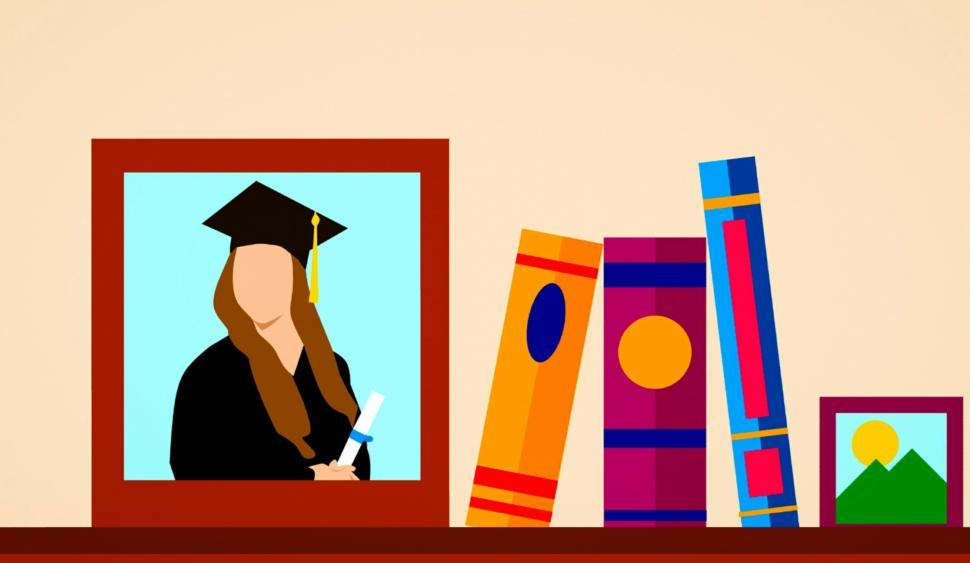 Download Free Stock HD Photo of graduation memory  Online