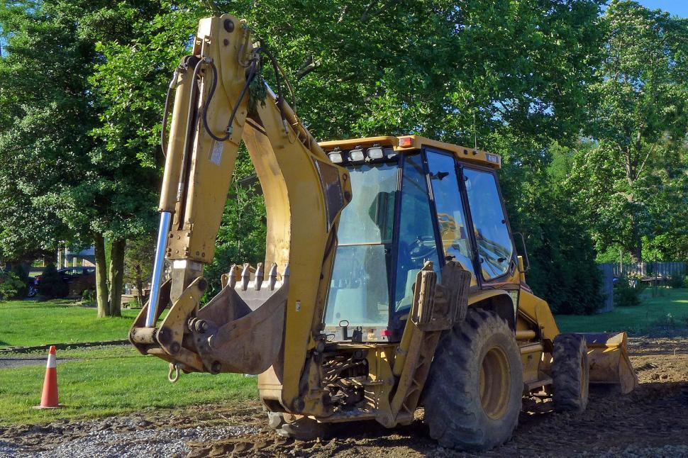 Download Free Stock HD Photo of Backhoe Machine Online