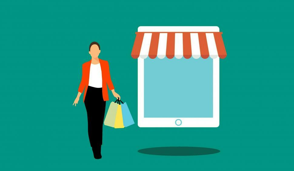 Download Free Stock HD Photo of shopping online  Online