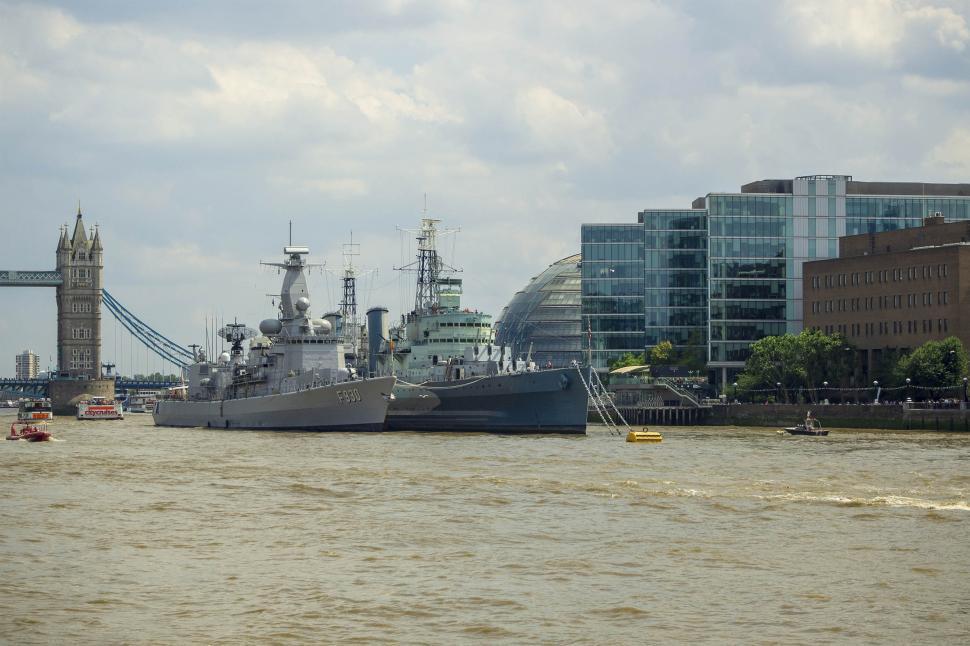 Download Free Stock HD Photo of HMS Belfast Online
