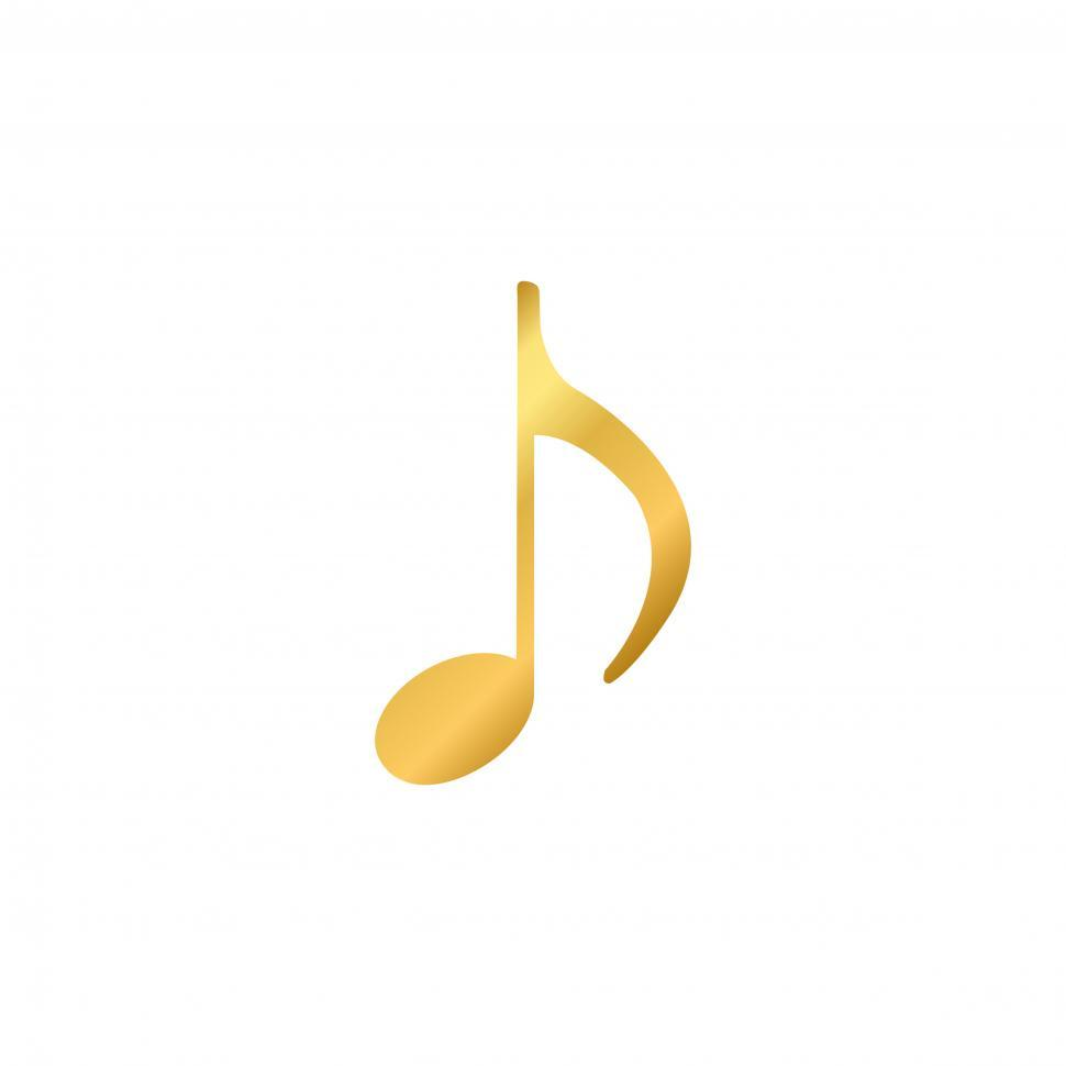 Download Free Stock HD Photo of Musical note Illustration vector on white background Online