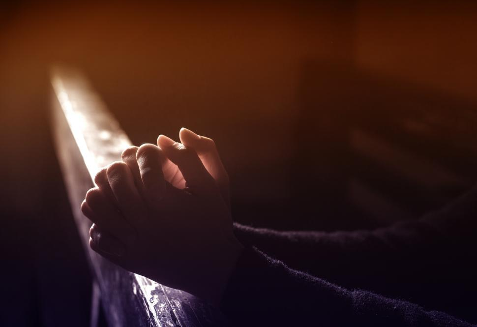 Download Free Stock HD Photo of Prayer - Person Praying - Hands Online