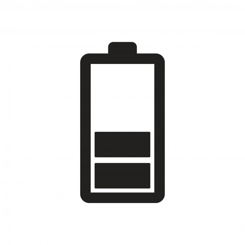 Download Free Stock HD Photo of Battery level vector icon Online