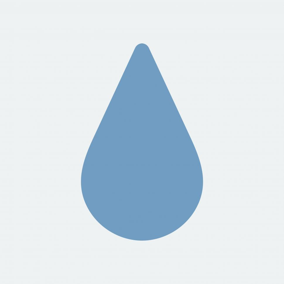 Download Free Stock HD Photo of Drop vector icon Online