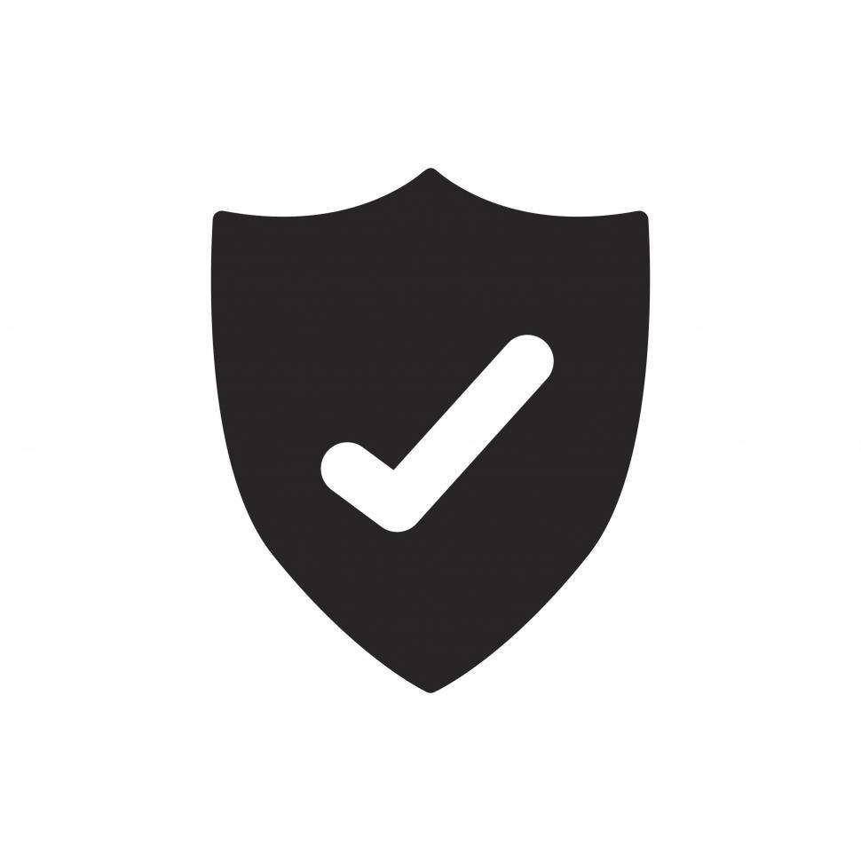 Download Free Stock HD Photo of Antivirus shield vector icon Online