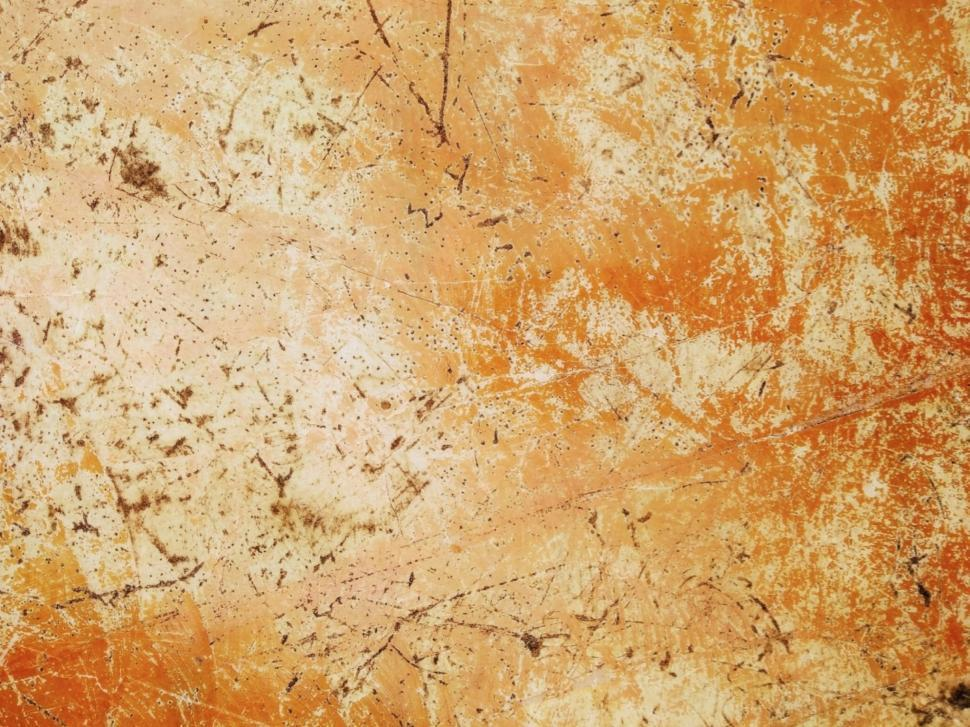 Download Free Stock HD Photo of Grungy Orange Scratched Wall Texture  Online