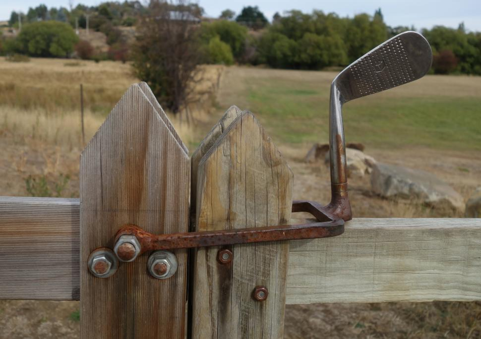 Download Free Stock HD Photo of Golf Club Gate Latch  Online