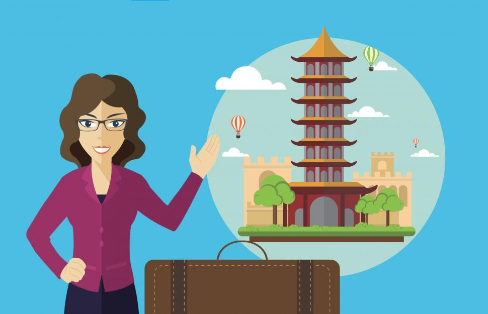 Download Free Stock HD Photo of Traveling to China  Online
