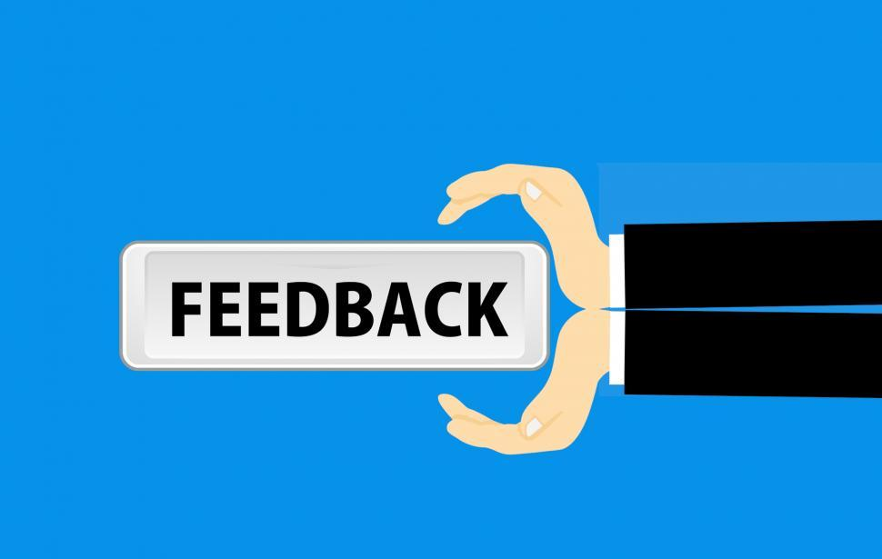 Download Free Stock HD Photo of receive feedback  Online