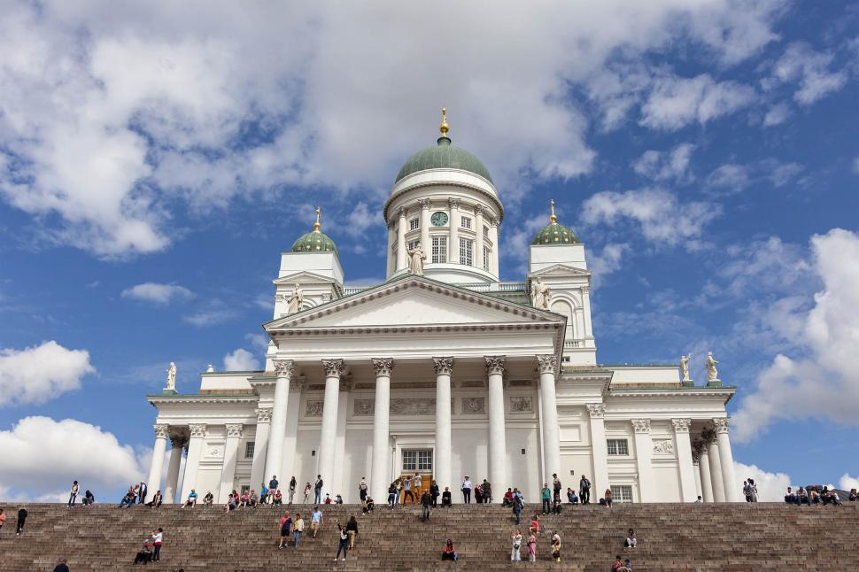 Download Free Stock HD Photo of Helsinki Cathedral Online