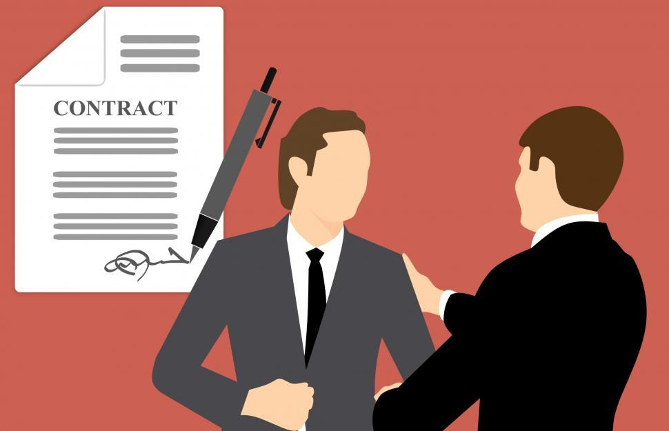 Download Free Stock HD Photo of Business contract  Online