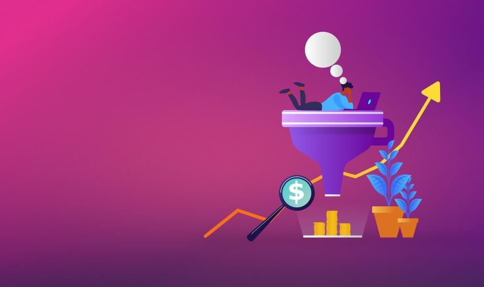 Download Free Stock HD Photo of Sales Funnel - Buying and Selling - E-Commerce Online