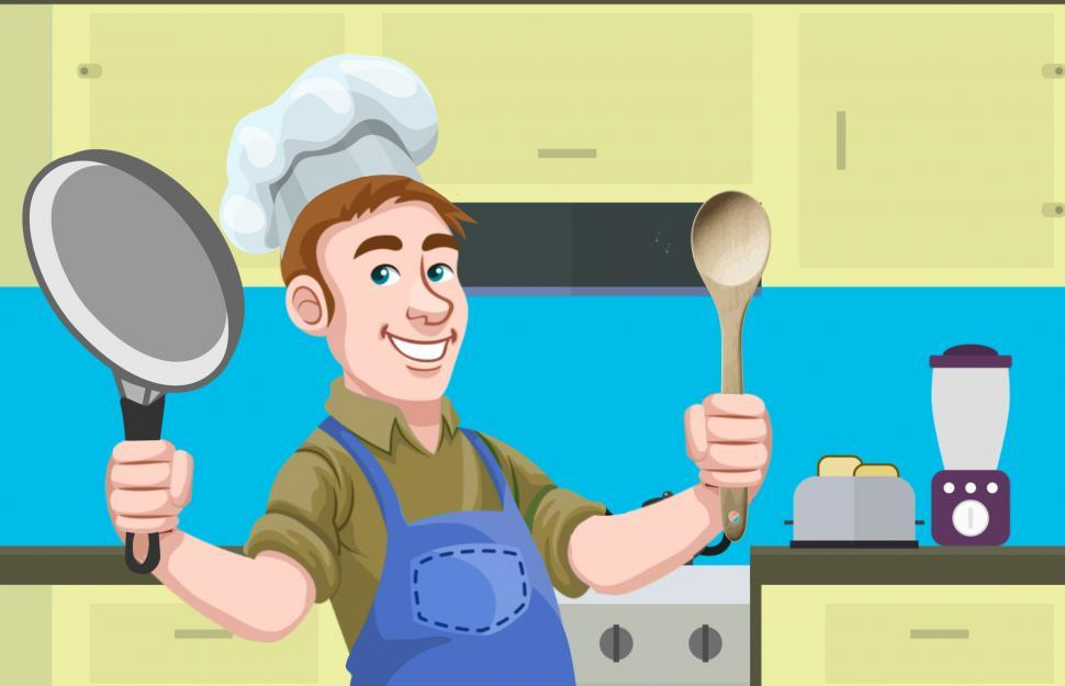 Download Free Stock HD Photo of Man cooking  Online