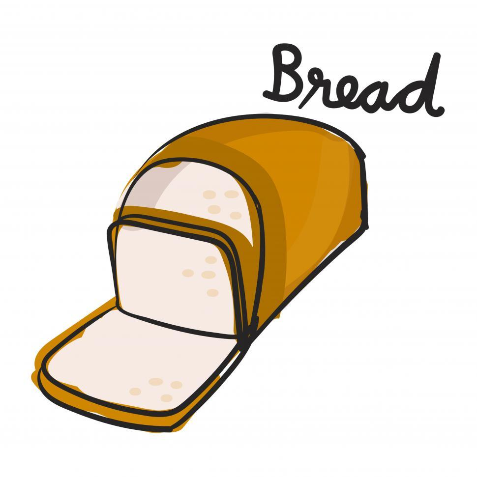 Download Free Stock HD Photo of Lough of bread vector icon Online