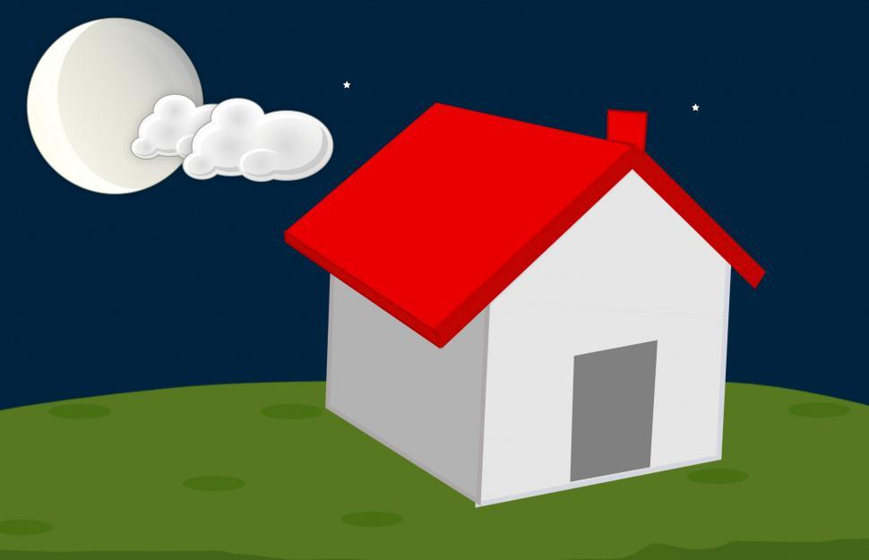 Download Free Stock HD Photo of Home at night  Online