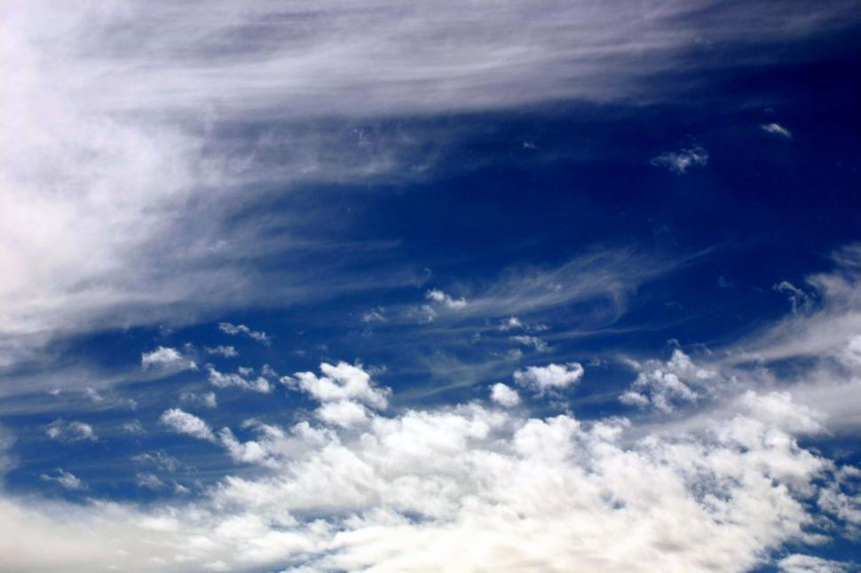 Download Free Stock HD Photo of Various white clouds Online