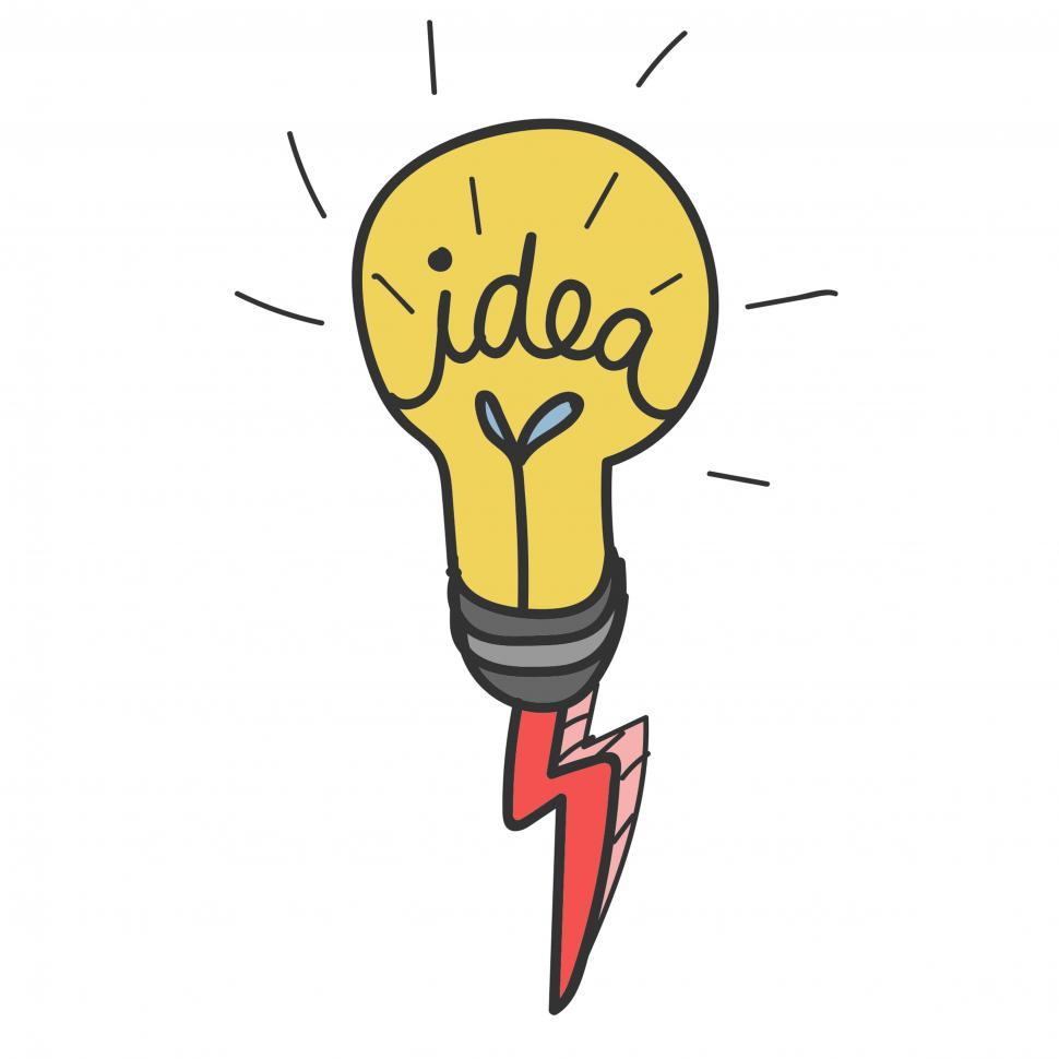 Download Free Stock HD Photo of Idea bulb icon vector Online
