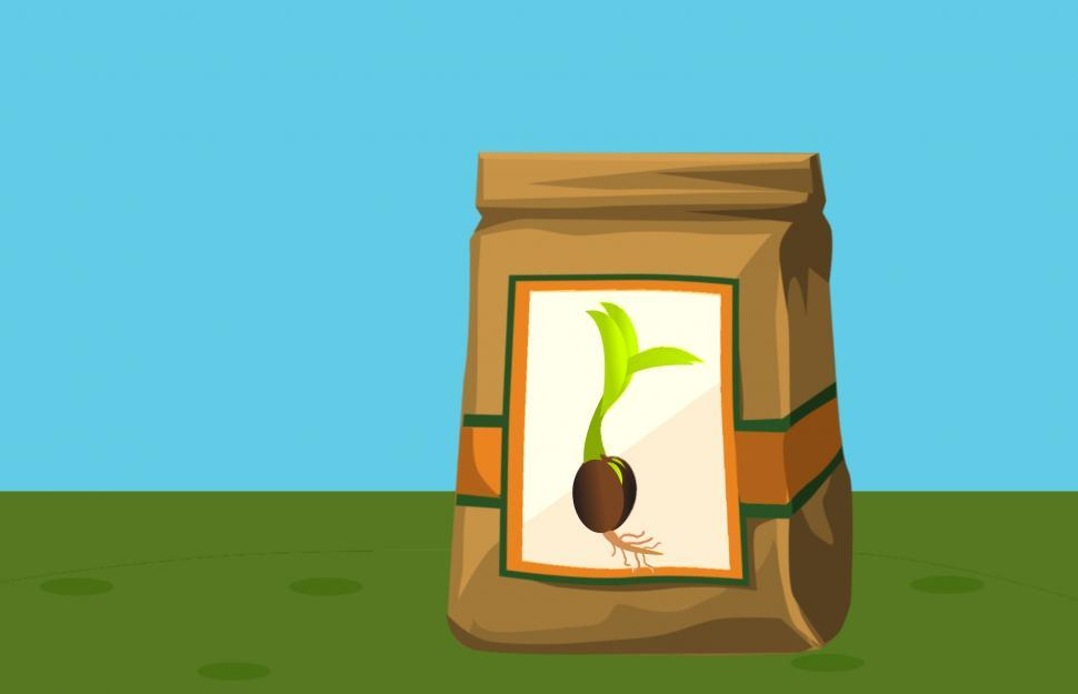 Download Free Stock HD Photo of Bag of seeds  Online