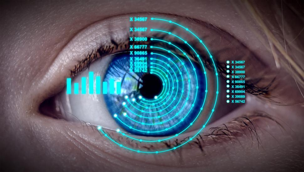 Download Free Stock HD Photo of Control and Protection - Personal Identification - Biometrics -  Online
