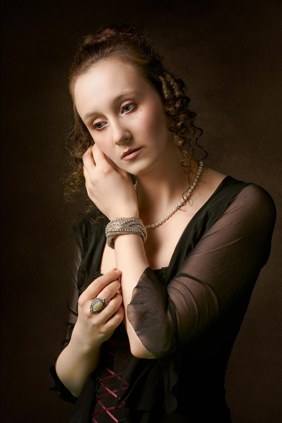 Download Free Stock HD Photo of Girl with a Pearl Earring  Online