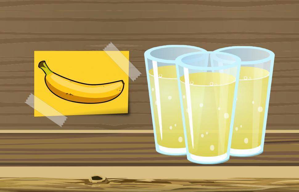 Download Free Stock HD Photo of Banana juice  Online
