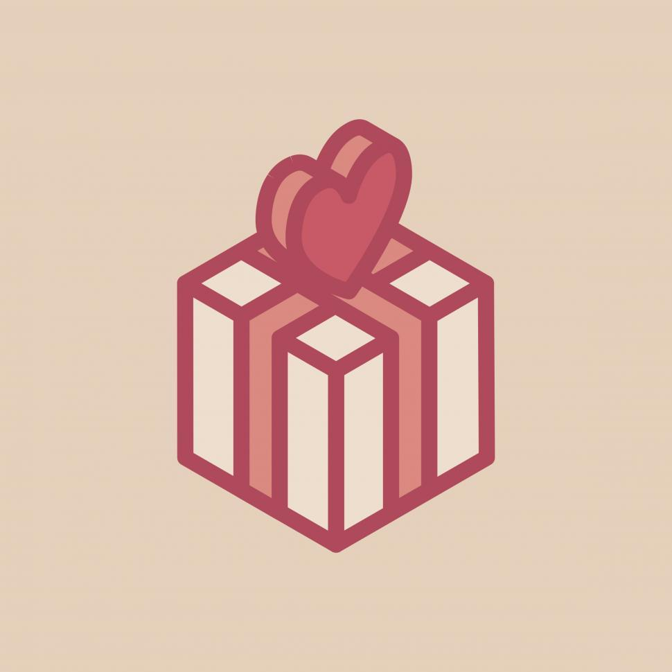 Free Stock Photo Of Valentine S Day Gift Vector Icon Online Download Latest Free Images And Free Illustrations