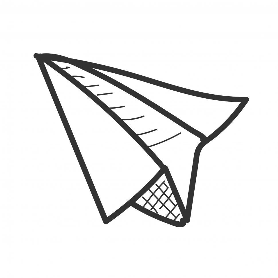 Get Free Stock Photos Of Paper Plane Icon Vector Online Download