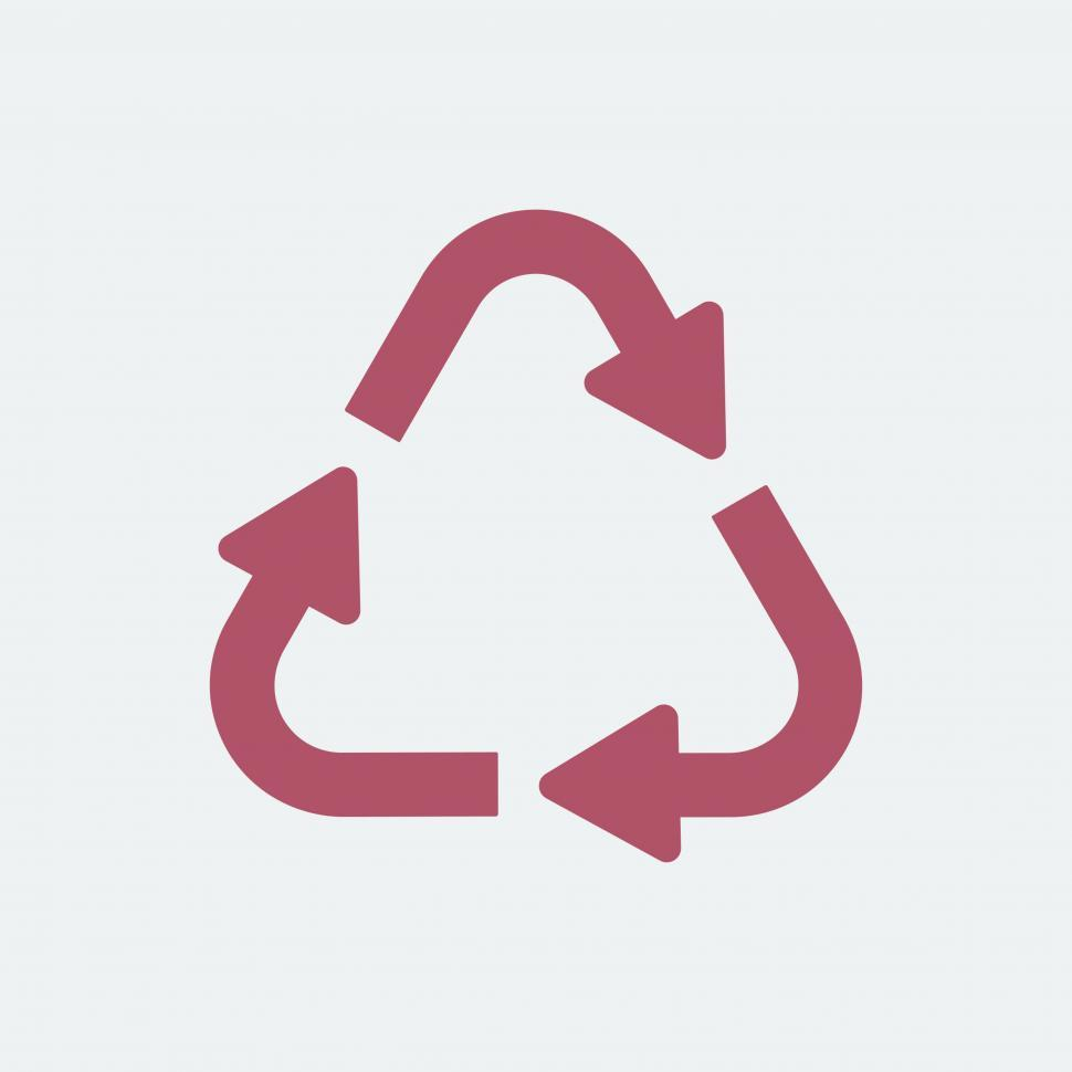 Download Free Stock HD Photo of Recycle symbol vector Online