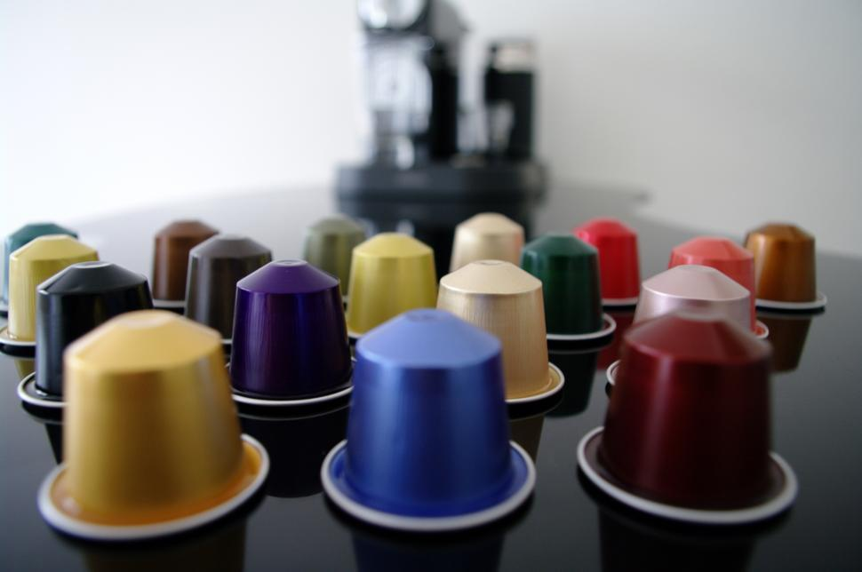 Download Free Stock HD Photo of coffee capsules Online