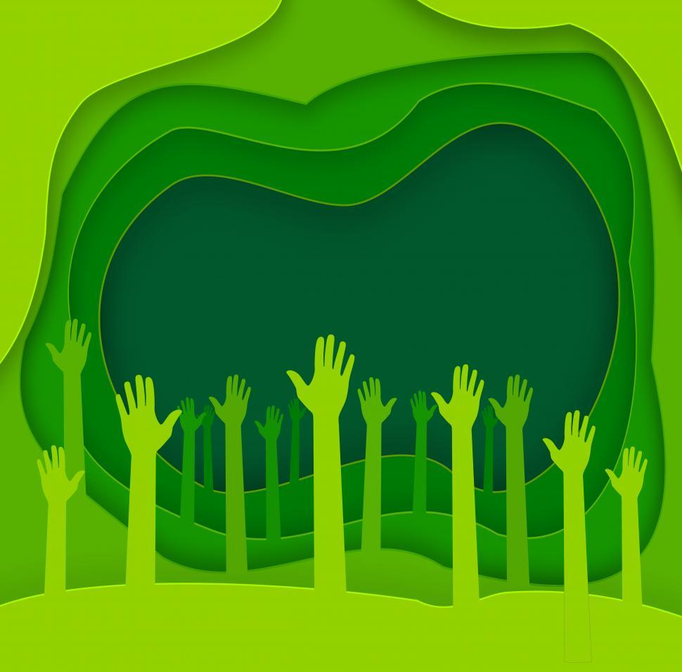 Download Free Stock HD Photo of Abstract Green Background - Save the Planet - Copyspace - Ecolog Online