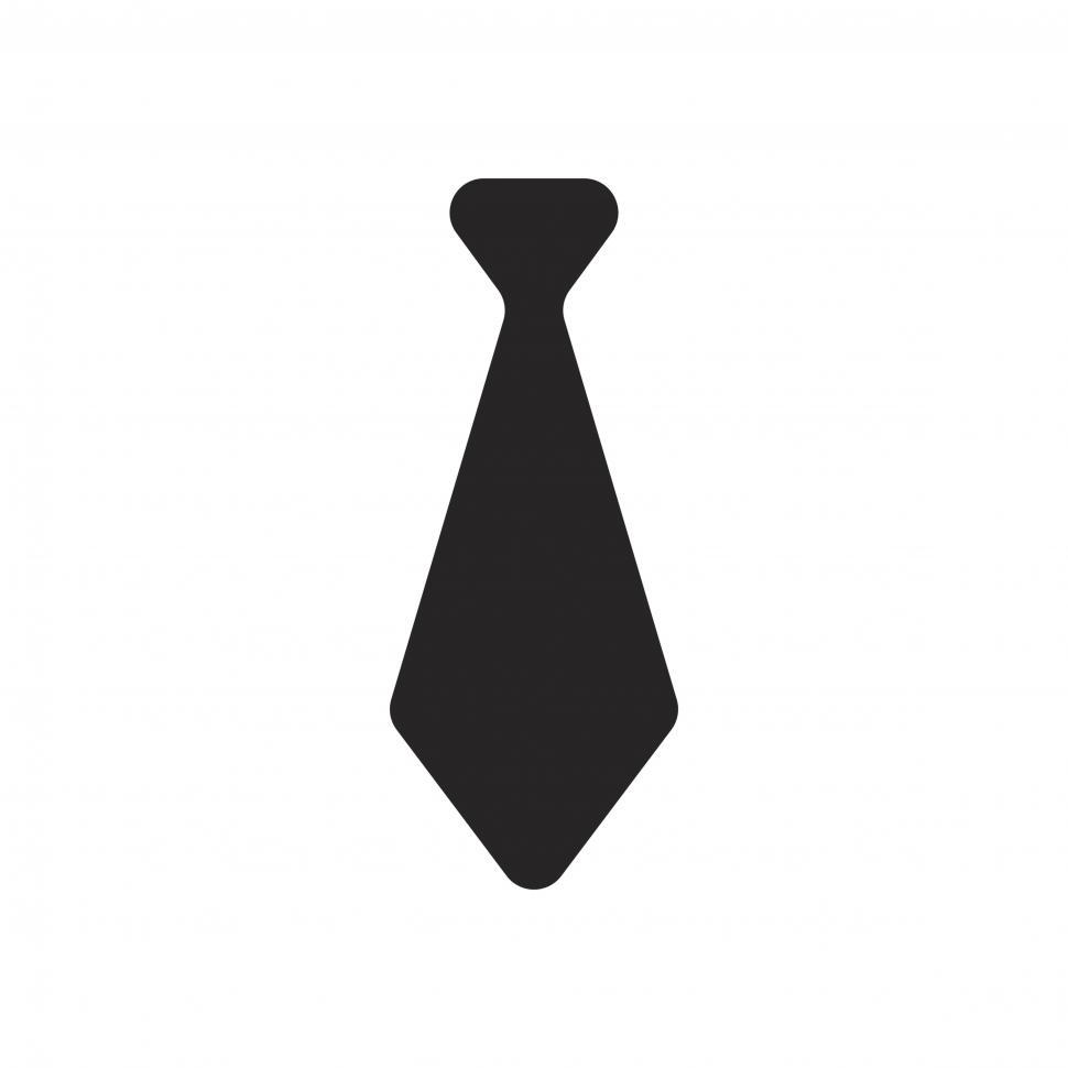 Download Free Stock HD Photo of Necktie icon vector Online