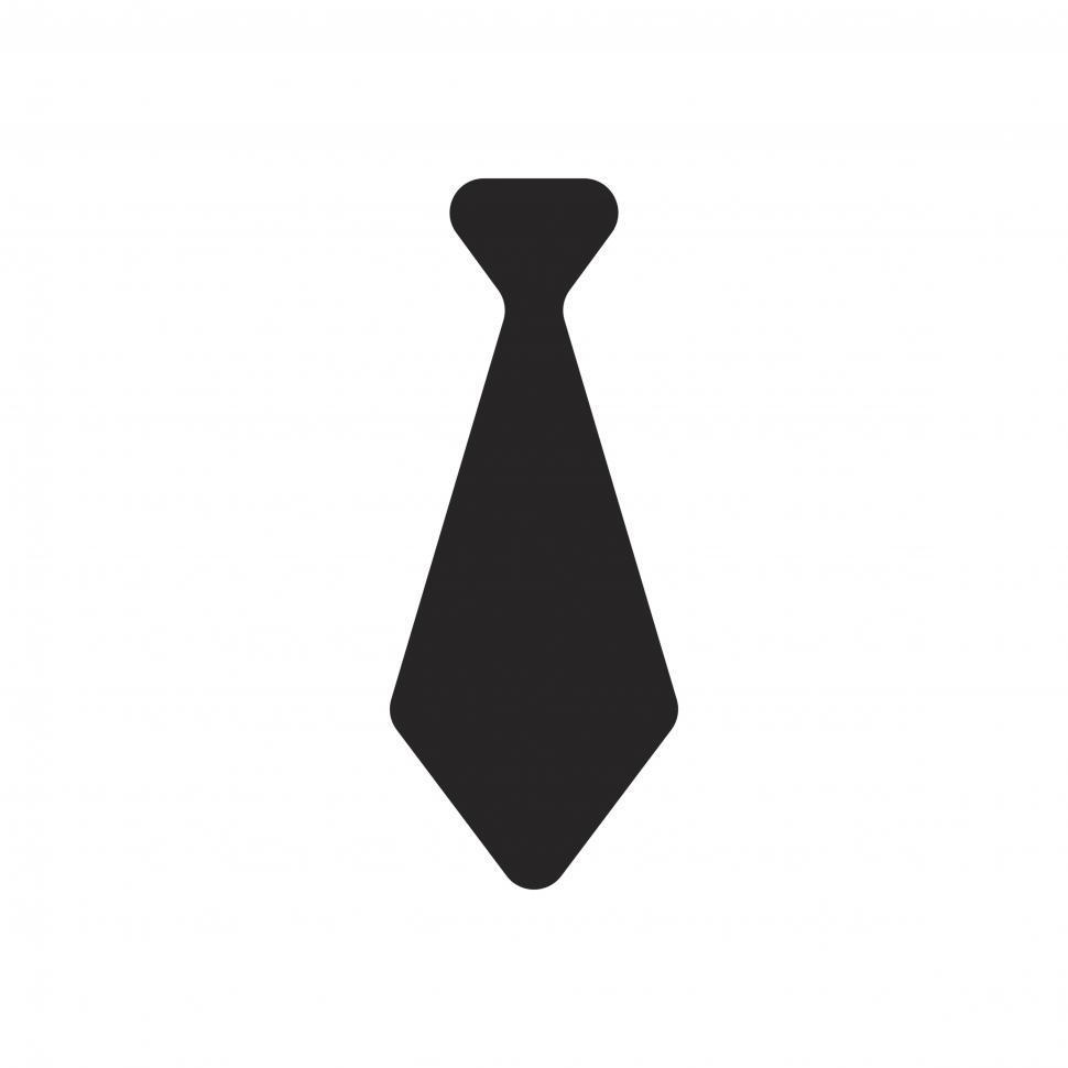 Download Free Stock HD Photo of Necktie icon vector Online