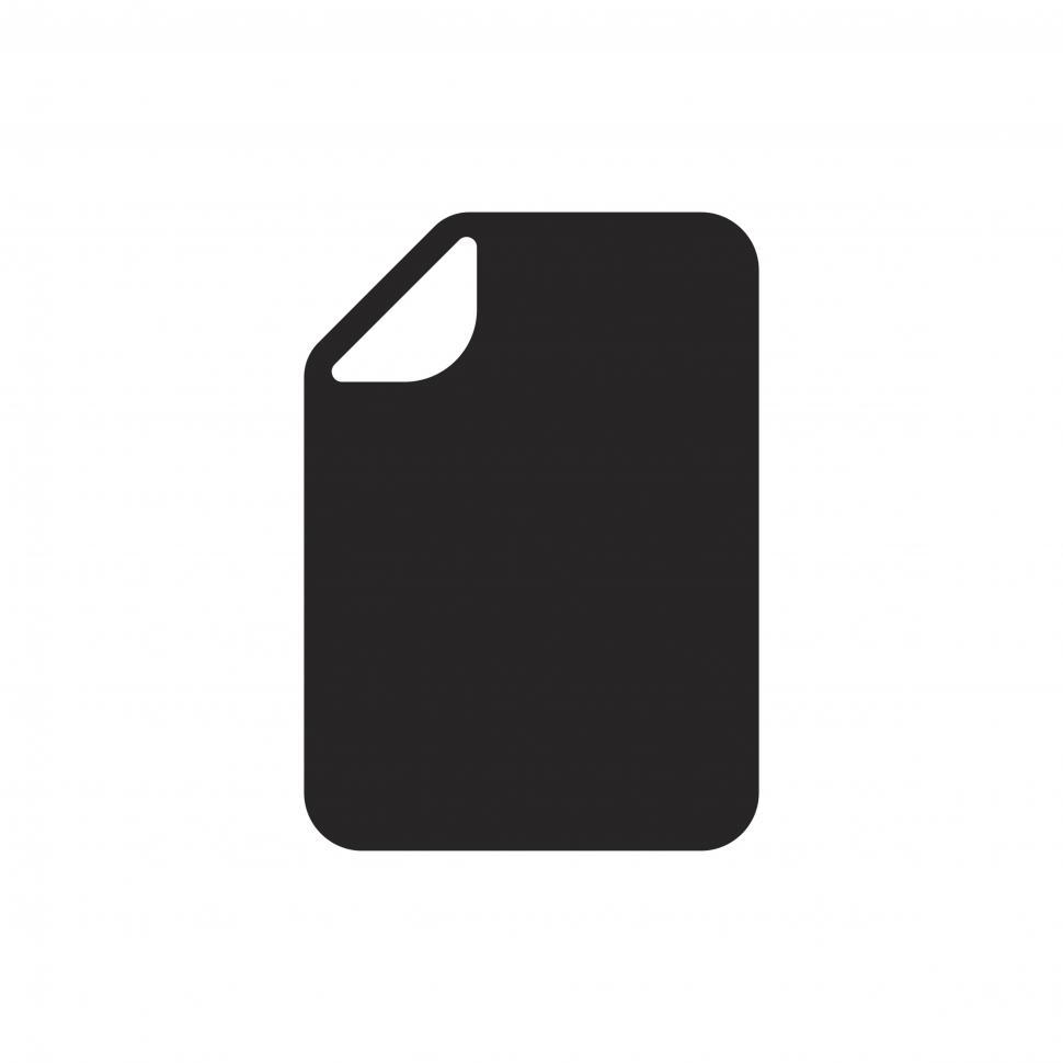 Download Free Stock HD Photo of Document vector icon Online