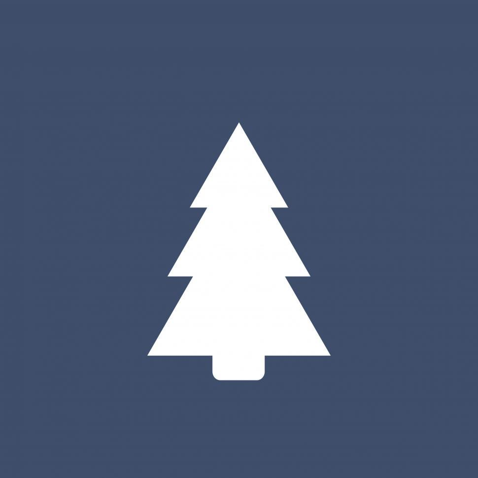 Download Free Stock HD Photo of Pine tree icon Online