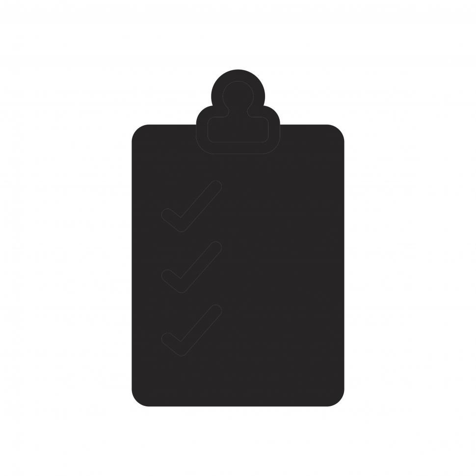 Download Free Stock HD Photo of Clipboard icon vector Online