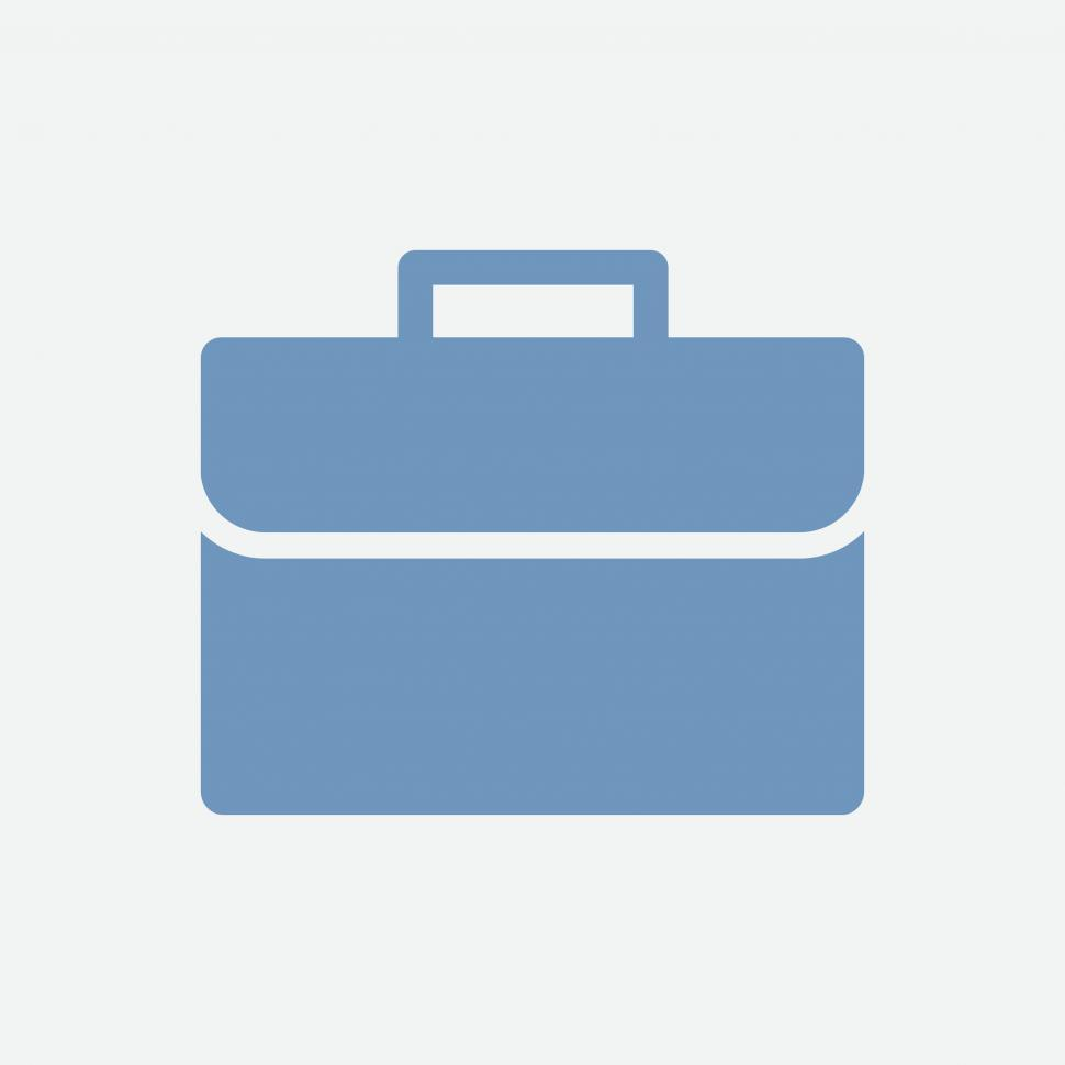 Download Free Stock HD Photo of Briefcase vector icon Online