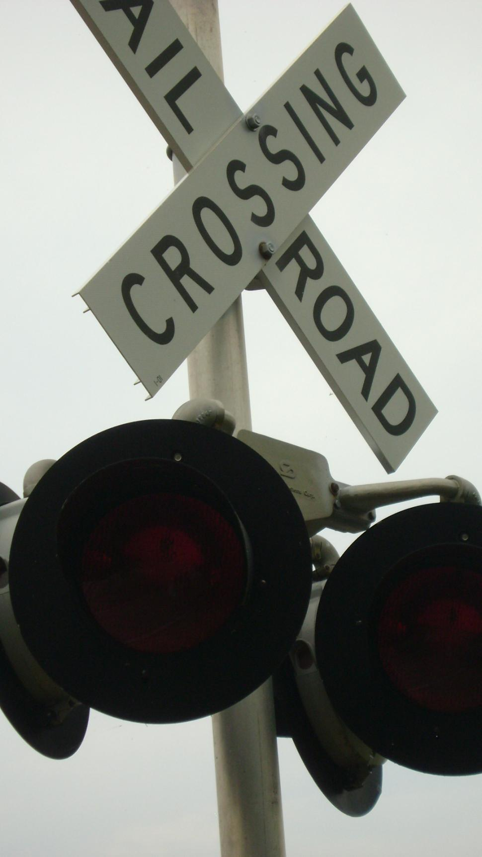 Download Free Stock HD Photo of Train and crossing Online
