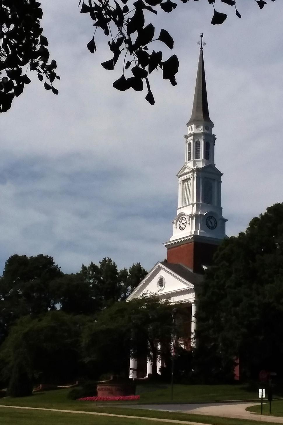 Download Free Stock HD Photo of University of Maryland Memorial Chapel Online
