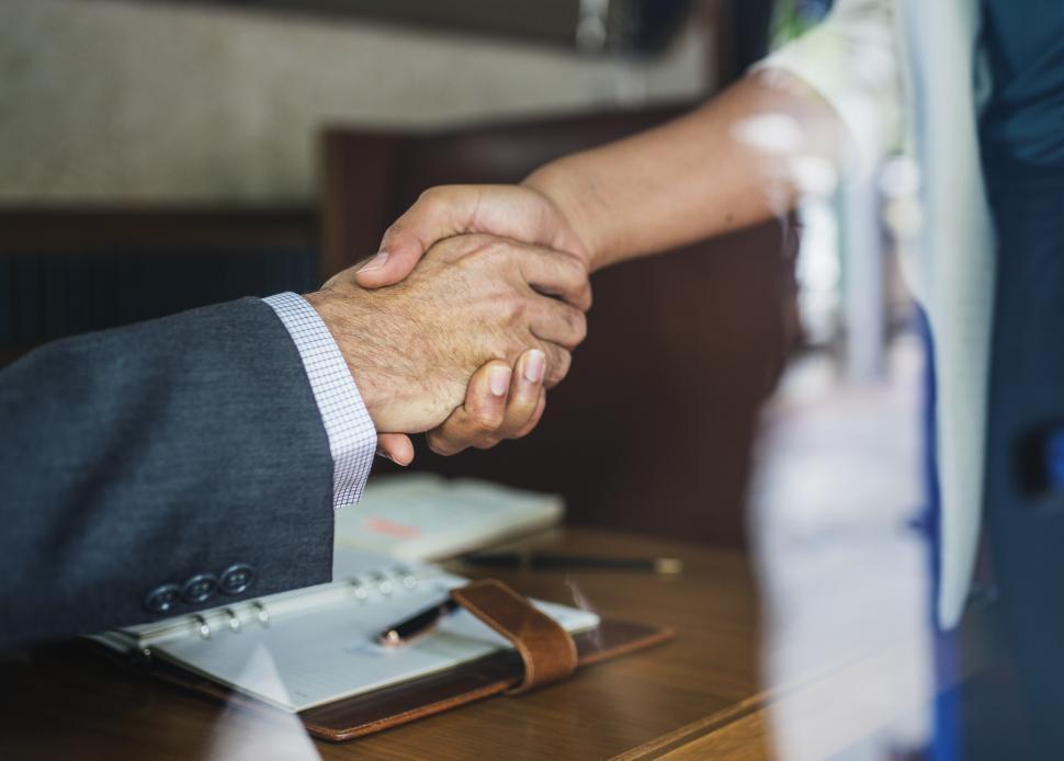 Download Free Stock HD Photo of Handshake seals the deal Online