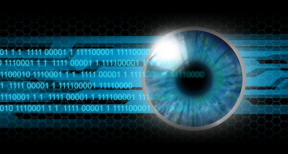 Download Free Stock HD Photo of Biometrics - Human Eye - Lens Reading Online
