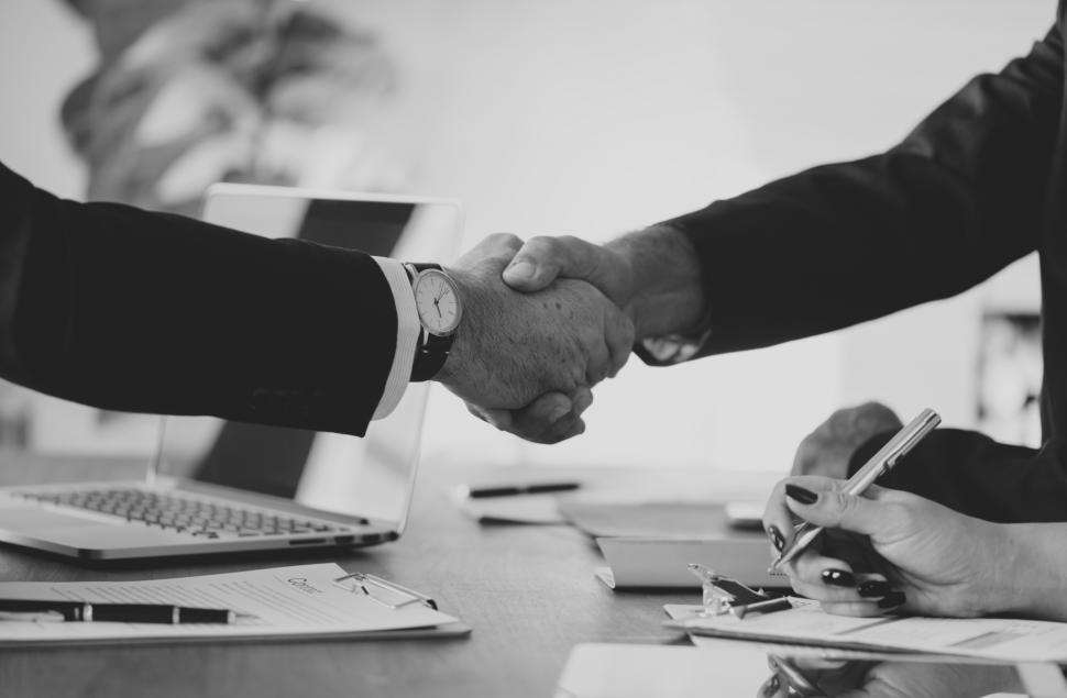 Download Free Stock HD Photo of Firm Handshake between two people Online
