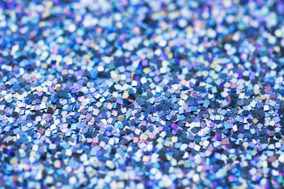 Download Free Stock HD Photo of Blue and violet rectangular glass glitter sparkles Online