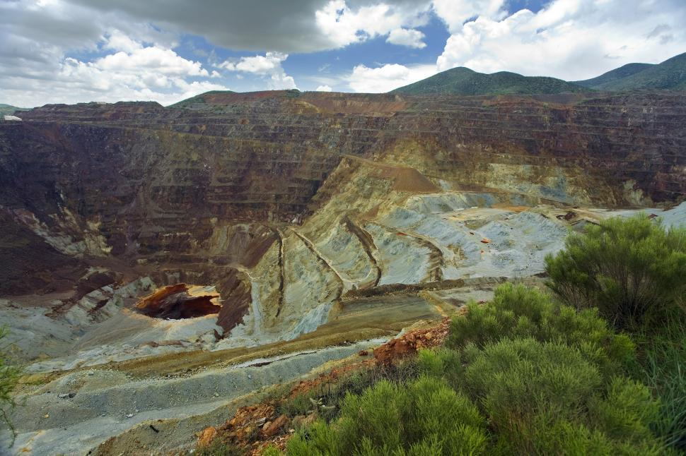 Download Free Stock HD Photo of open pit mine Online