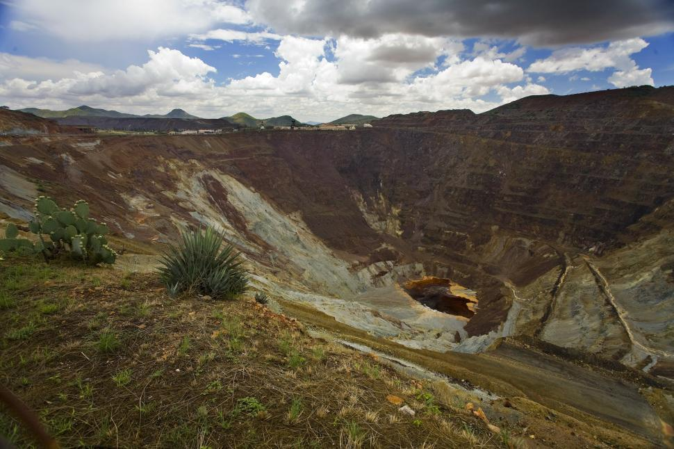 Download Free Stock HD Photo of open pit mine 2 Online
