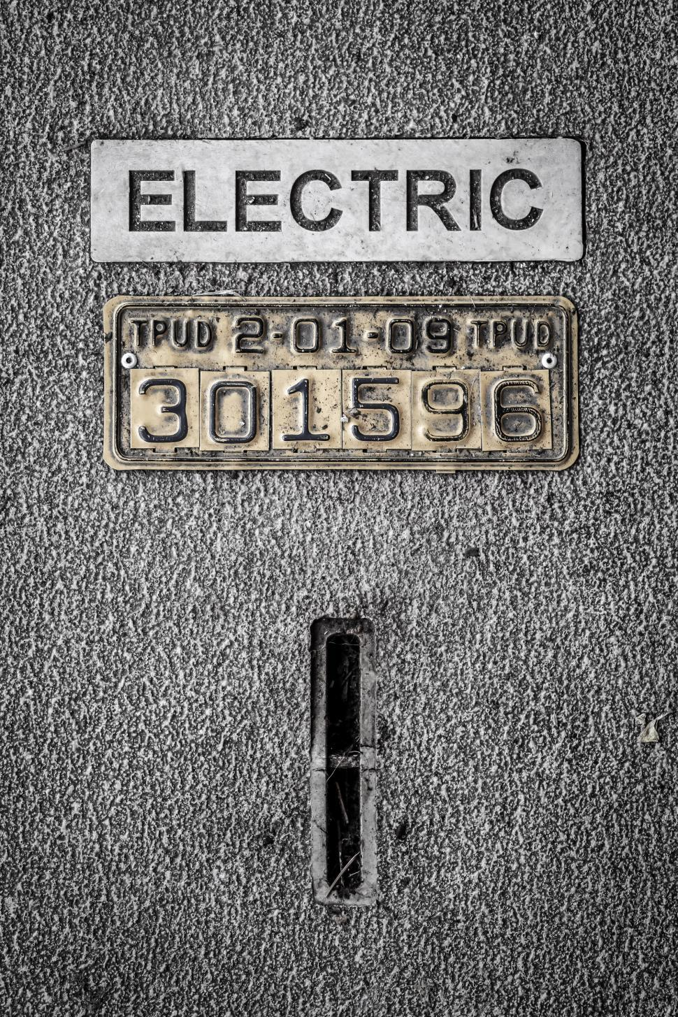 Download Free Stock HD Photo of Electric Meter Cover Online